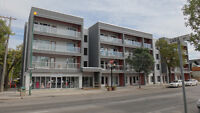 Wolseley Newer Concrete Condo - 2 BR - Covered Parking