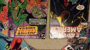 Comic books from 80's and 90's