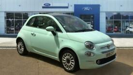image for 2018 Fiat 500 1.2 Lounge 3dr Petrol Hatchback Hatchback Petrol Manual