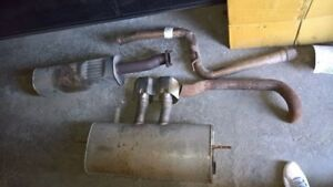 Ford Focus ST muffler and resonator - exhaust