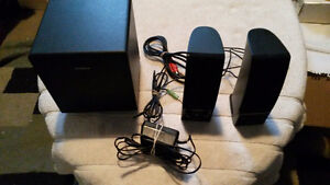 Logitech and Insignia Speakers - Both are In Great Condition