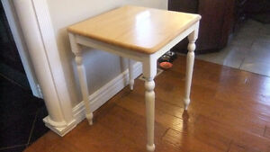 kitchen butcher block table