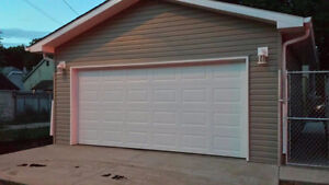Double 22 x 20 detached garage near downtown for rent