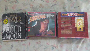 3-SETS OF AUDIO MYSTERY STORIES ON DVD