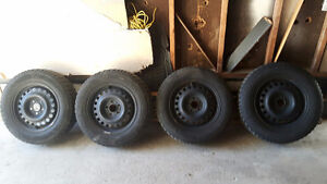 205/65/R15 Mint Condition Winter Tires For Sale