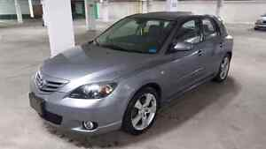 2004 MAZDA3 GT AUTOMATIC E-TESTED FIRST OWNER WITH ONLY 190K.