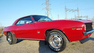 1969 CHEVY CAMARO SS CLASSIC MUSCLE CAR