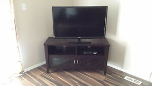 T.V stands for sale