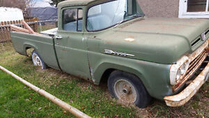 REDUCED!!*1960 Ford F-100*  + *1960 Mercury M-100*(stripped)