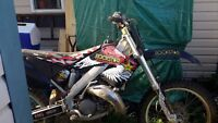 Looking to trade a 2002 cr 125