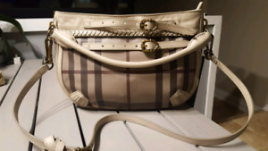 Authentic smoked check burberry purse