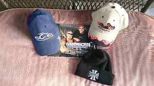 Orange County Choppers items $20 Book & hats.