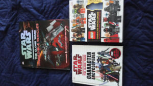 Star wars lego and clone wars character encyclopedia. 3 books