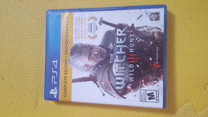 Witcher 3 complete edition for Sale. Low Price. PS4