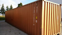 40' Storage and Shipping Containers on Sale - Spring Specials!
