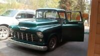 1955 CHEVY LATE MODEL Pickup Truck, Short Box, Step Side