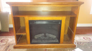 Twinstar Fireplace and entertainment unit Cambridge Kitchener Area image 1