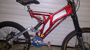 Norco VPS Team DH Bike Frame & some parts - FOX RC Easton FUNN A