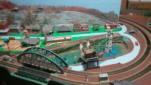 HO Scale Model Train Layout