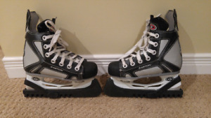 Kids Easton hockey skates