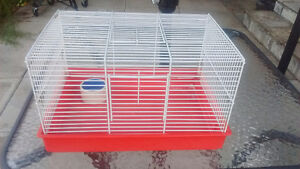 Small Hamster Cage with Bowl