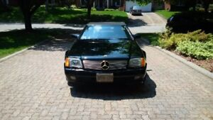 1990 MERCEDES BENZ 500 SL FOR SALE BY OWNER