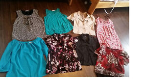 Assorted Women's Clothes-7 Tops & 1 Dress-$50 for all 8 items