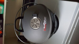 Coors light table top charcoal BBQ
