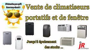 ** MÉGA VENTE D'ENTREPÔT D'AIR CLIMATISÉS PORTATIFS / FENÊTRE **