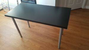 2 Black Desks/Dining Tables for Sale