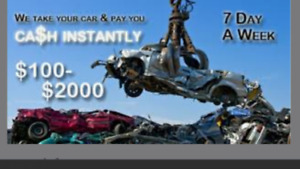 BUYING SCRAP CARS (accident or dead)