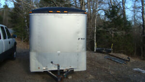 2005 14x6x6 enclosed 7000gvw cargo trailer