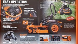 "ALL NEW Kubota Z421TKW - 60"" zero turn - 24Hp gas engine"