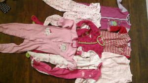 Pyjamas 3,6,9,12,18,24 mois fille et garcon