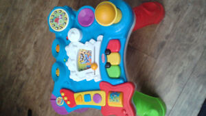Playskool music table