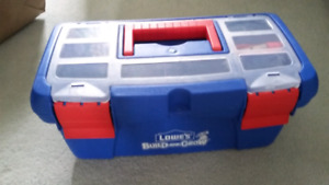 @ New Lowes kids 16 pieces tool box set