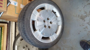 Lexus wheels and tires 225/55/17 set of 4