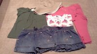 Girls summer clothes, size 2