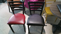 CHAISES RESTO X BACK / Bistro chairs / cafe chairs