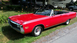 1970 Chrysler Newport Convertible in mint condition
