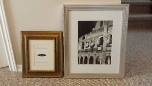 2 Stylish Picture Frames