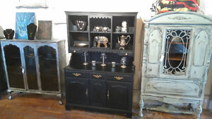 CHALK PAINTED FURNITURE SHABBY CHIC FRENCH DISTRESSED ANTIQUED