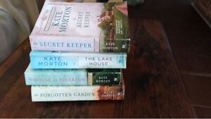 4 books Kate Morton $3 each  or 4 for $10