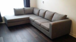Sectional couch from Urban Barn