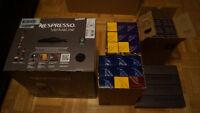 Nespresso VertuoLine + 360 capsules + welcome set--NEUF--