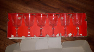 Versailles Crystal Wine Glasses (6) & Champagne Glasses (4)