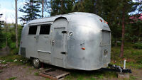Vintage 1962 Airstream Globe Trotter