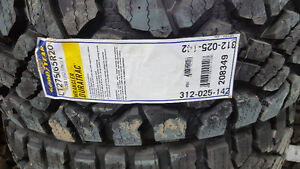 Brand new.. 275/65-20 goodyear duratrac