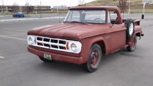 68 Fargo/Dodge stepside