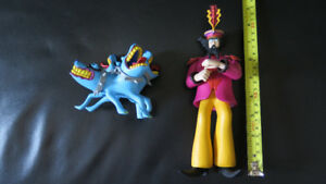 Figurines Yellow Submarine, portefeuille Beatles Abbey Road